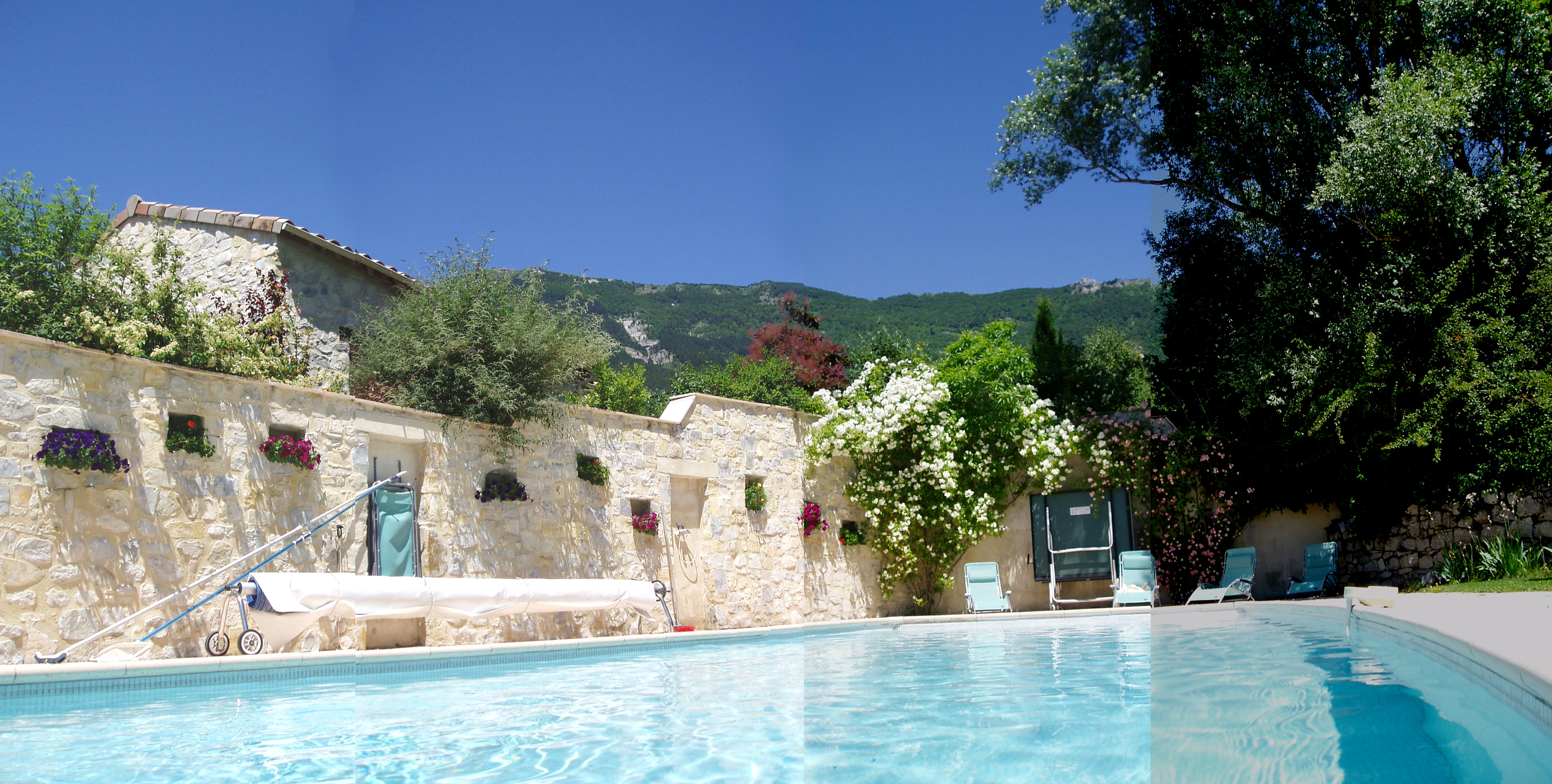 3 gites habitation principale avec piscine dans la drome - Gite dans les landes avec piscine ...